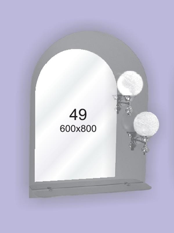 Зеркало для ванной комнаты влагостойкое ( настенное зеркало) 600х800мм Ф49