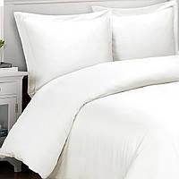 Постельное белье для гостиниц - Lotus ранфорс белое полуторное