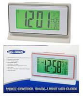 Настольные часы  Ds-3601 с датчиком хлопка, фото 1
