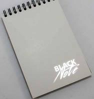 Блокнот А6 30л ЗК-31 черные листы (Black Note)
