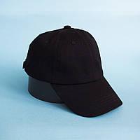 Черная кепка без рисунка