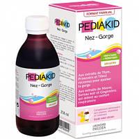 Сироп детский для носа и горла: очищение и снятие воспаления  Pediakid ,250 мл