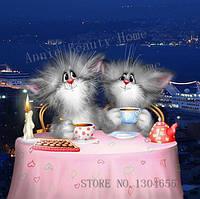 Котики романтический ужин (полная выкладка)