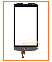 Сенсор (тачскрин) LG L BELLO Dual D335 Black