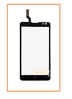 Сенсор (тачскрин) LG D605 Optimus L9 II black