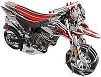 Заводной 3D пазл Мотоцикл Эндуро HOPE WINNING (HWMP-81)