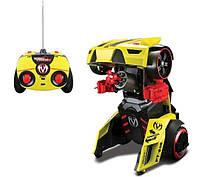 Автомодель - трансформер на р/у Street Troopers PT808 жёлто-чёрный MAISTO TECH (81108 yellow/black)