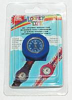 Часы с одной оправой синяя Loomie Time RAINBOW LOOM (7867)