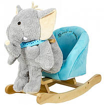 Детское кресло - качалка Слоник 3в1 ROCK MY BABY (JR2503)