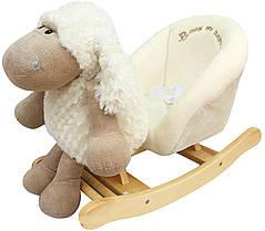 Детское кресло - качалка Овечка 3в1 ROCK MY BABY (JR2506)