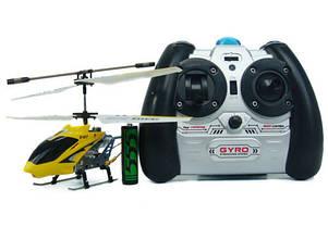 Вертолёт с 3-х канальным и/к управлением светом и гироскопом (22 см) S107G SYMA (S107G)