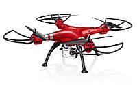 Квадрокоптер с 2 4 Ггц управлением и камерой ( 50 cм) SYMA (X8HG)