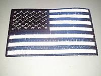 Светоотражающая нашивка Флаг США 6х10 см, фото 1