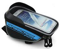Тримач смартфону BaseCamp BC305 сумка для велосипеда блакитна