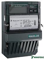 Электросчетчик  Меркурий 230 ART-00 C(R)N 3*57,7/100В 5(7,5)А  3ф., многотарифный, трансформаторного вкл.