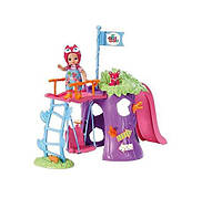 Игровая площадка с куклой Лисичка Совунья CHOU CHOU Zapf Creation 920312