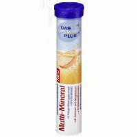 Шипучие таблетки-витамины DAS gesunde PLUS Multi-Mineral (мультивитамины+минералы), 20 шт
