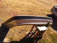 Бампер Волга 31105 задний объемный, без хрома, серебро (производство Технопласт г.Н.Новгород)