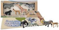 Обучающий игровой набор Wenno с QR-картой - Животные Африки S2