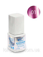 Гель-лак Зеркальный Velena Gelliant №1 (пурпурный) 9мл