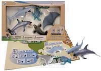 Обучающий игровой набор Wenno с QR-картой - Обитатели Тихого океана