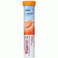 Шипучие таблетки-витамины DAS gesunde PLUS Vitamin C (витамин С), 20 шт