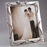 """Фоторамка """"Голубки"""" (25*30 см, ф - 20*25 см) шикарный подарок на свадьбу"""