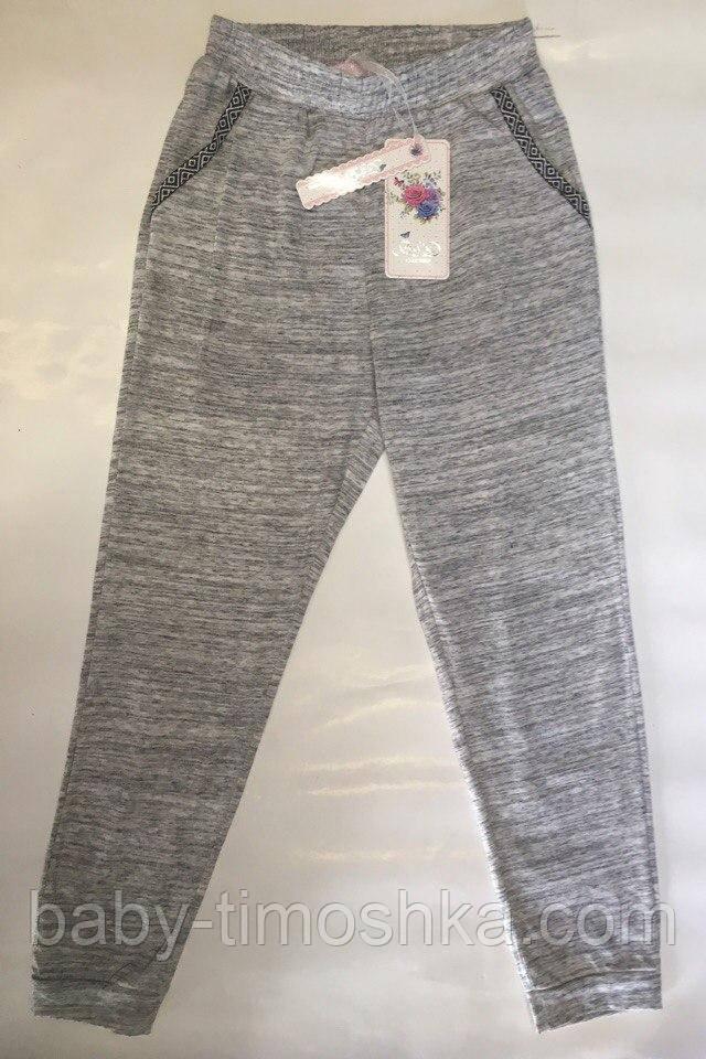Спортивные штаны для девочек 134-164 см