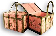 Сумка-корзина складная бамбуковая М-8, вес до 10 кг