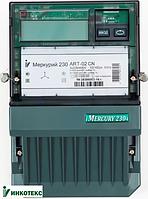 Электросчетчик Меркурий 230 ART-02 C(R)N 3*230/380В 10-100A кл.т. 1,0/2,0, ЖКИ, CAN(RS-485), многотарифный