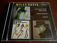 Miles Davis The Man With The Horn/Star People/Decoy 2CD б/у