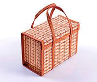 Сумка-корзина складная бамбуковая М-10, вес до 10 кг