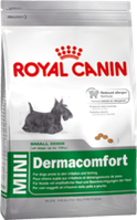 Роял Канин Мини Дермакомфорт 800гр, сухой корм для мелких собак/раздражение кожи и зуд