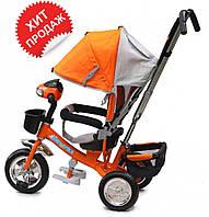 Детский трехколесный велосипед Baby trike CT-59-2 на пене, оранжевый