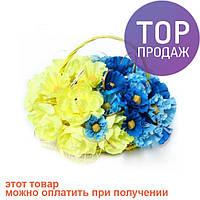 Букет из конфет Україна назавжди / оригинальный подарок