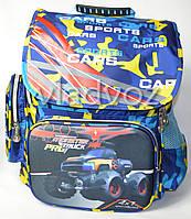 Школьный рюкзак для мальчиков Monster Track синий
