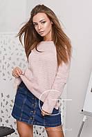 Женский вязаный свитер прямого кроя SV С26377-15