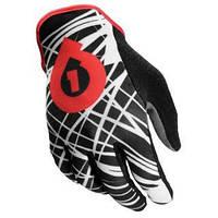 Перчатки 661  REV GLOVE WIRED BLK/RED  длинный палец  XL (11) 2012