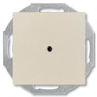Заглушка з виводом кабелю, слонова кістка - Abb Basic 55