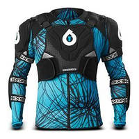 Защита тела 661 EVO PRESSURE SUIT BLACK/CYAN XL 2012