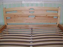 """Кровать """"Сакура-2"""". Массив дерева - ольха, покрытие - """"лак"""". 3"""