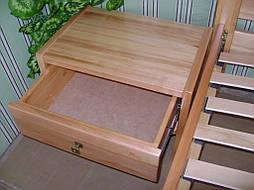 """Кровать """"Сакура-2"""". Массив дерева - ольха, покрытие - """"лак"""". 6"""