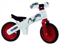 Велосипед BELLELLI B-Bip Pl обучающий бело-красный 2-5лет (беговел)