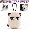"Брелок-ключница - ""Grumpy Cat"""