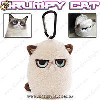 "Брелок-ключница - ""Grumpy Cat"", фото 1"