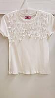 Детская школьная трикотажная блузка для девочки 116-152