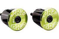Вставки в руль PRO (пара), анодированные, зеленые
