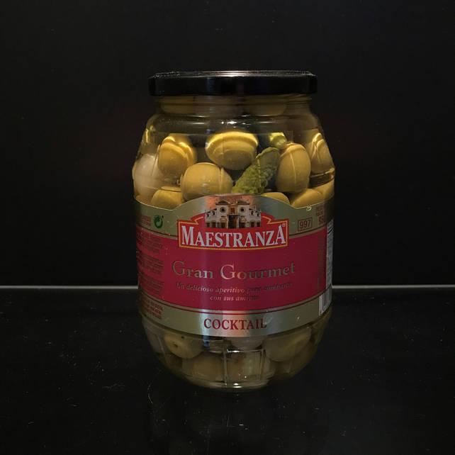 Испанские гигантские оливки Maestranza Gran Gourmet 950г