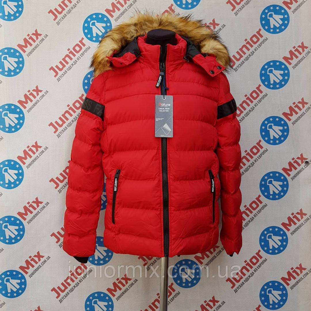 Подростковая зимняя детская куртка для мальчиков NATURE ОПТОМ