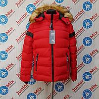 Подростковая зимняя детская куртка для мальчиков NATURE ОПТОМ, фото 1